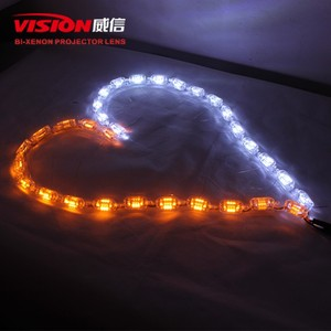VISION Flexible Crystal Stretch flexible led drl/ daytime running light