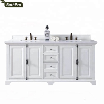 Astonishing America Hot Sale 72 Inches Oak Wood Double Sink Bathroom Vanities With Marble Top Buy Double Sink Bathroom Vanities Lowes Bathroom Sinks Complete Home Design Collection Epsylindsey Bellcom