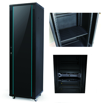 Waterproof Server Cabinet Rack , Patch Panel Cabinet