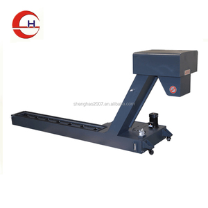 High effectively hinged belt type chip scraper conveyor for cnc machines