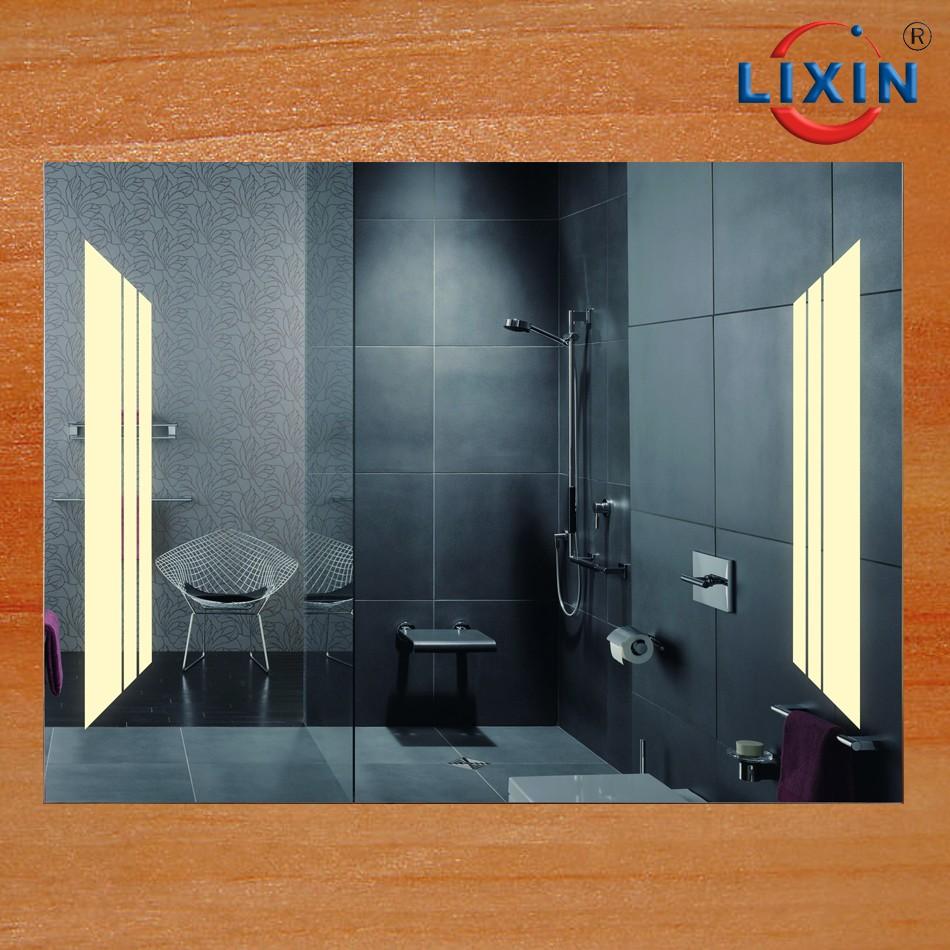 Carrelage Salle De Bain Showroom ~ Lixin Marque Salle De Bains Vanit Miroirs Sans Cadre Avec Led Mp3