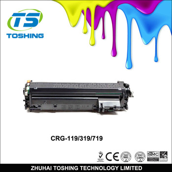 Crg-119 / Crg-319 / Crg-719 Compatible Toner Cartridge For Canon ...