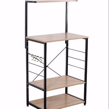 Kitchen Accessory Wooden Kitchen Shelf/baker Rack 4 Tier Shelves - Buy  Kitchen Accessory,Store Shelf,4 Tier Wooden Shelf Product on Alibaba.com