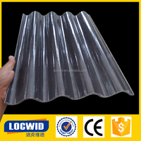 insulated roofing sheets / plastic sheeting / clear plastic roof