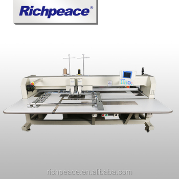 Richpeace Double color Car interior/Aerospace leather Automatic Sewing Machine