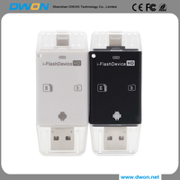 2017 factory price for iphone 6s iphone 7 usb flash drive otg pen drive memory stick 128gb 256gb