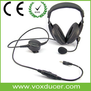 Manufature Long Talking Time Headset Tactical Operator Headset New Model