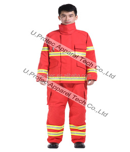 High Performance EN469 NomexIIIA Reflective Structural Firefighting Suit