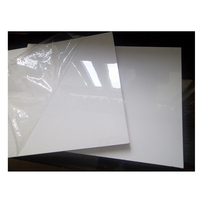 18mm waterproof high gloss white melamine plywood board for cabinet