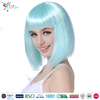 Styler Brand 2016 fashion blue wigs hair OEM factory wholesale 100% polyester synthetic party wig