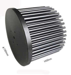 140mm Round Cold Forging Splayed Pin Fin Heatsink Led 100W,Led Al Pin Fin Heat Sink Design