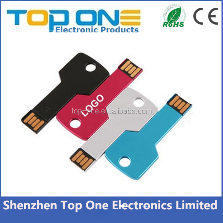 2017 New product cheap key shaped bulk otg 1tb 2tb USB 2.0 flash drive with customized logo