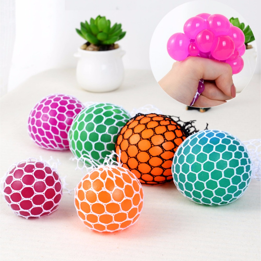 5cm Vent Grape Ball Toy Funny Goods Decompression Tricky Toys Squeeze Ball Halloween April Fools' Day Gifts