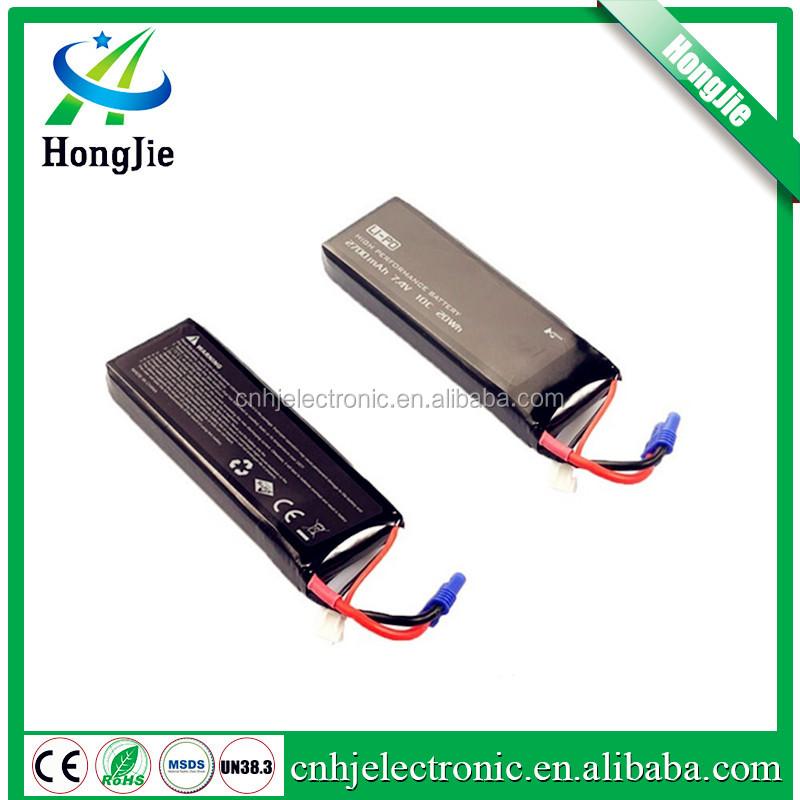 3.7V 520mAh 25C LiPO Battery walkera plug for Hubsan H107P RC model Lipolymer