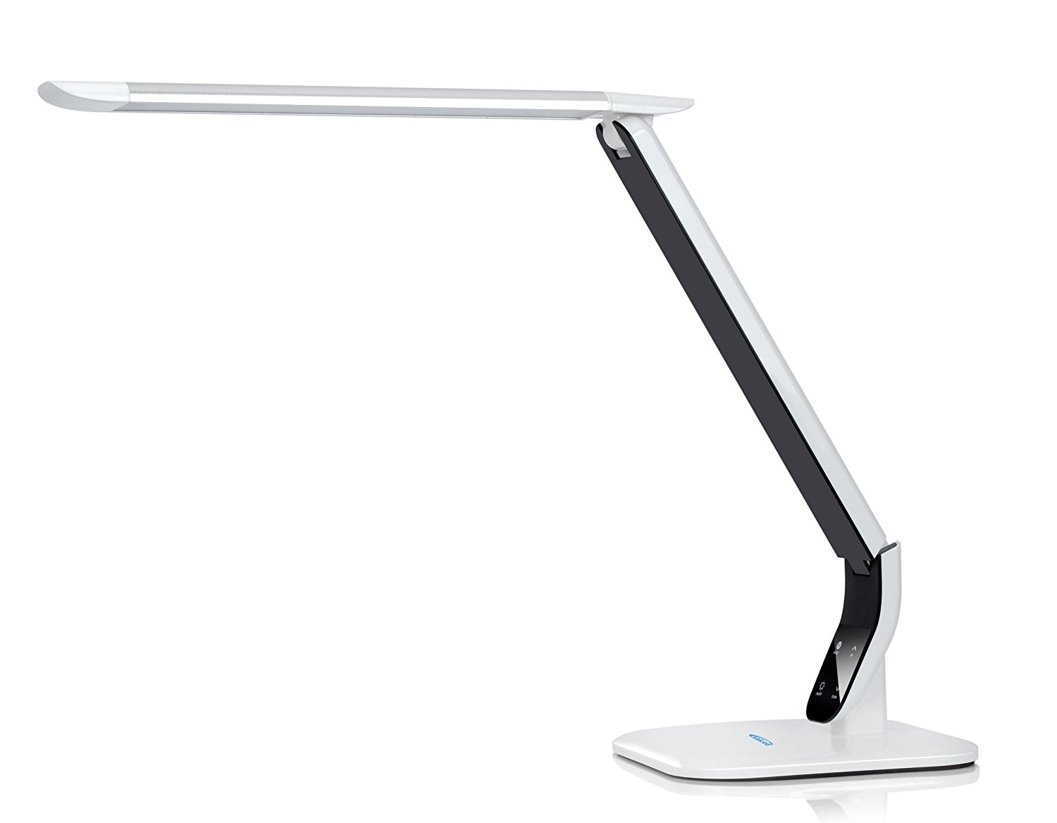 Saicoo? 10W Multi-function LED Eye-protection Desk Lamp - #1 desk lamp with aluminum alloy light head, 3 Lighting Modes (Studying, Reading and Relaxation/Bedtime), with 5 Level Brightness Control for each mode