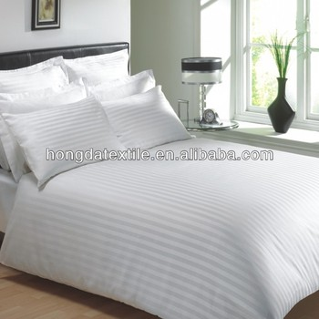 100 Cotton 300tc White Thick Duvet Cover Bed Sheets