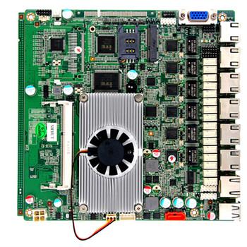 J1900 6 Lan Ports Motherboard Fanless Mini Itx Mainboard Pfsense Box  Firewall Router Motherboard - Buy Celeron J1900 Motherboard,Fanless Mini  Itx