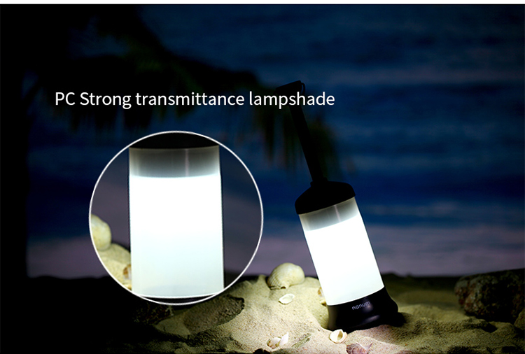 Outdoor survival gear vehicle travel portable rechargeable led lantern camping lamp with strong magnet
