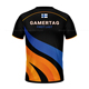 2019 Custom Made Short Sleeve Oem Sublimation Double Collar E-sports T Shirts