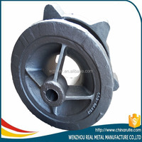 steel pump parts with sand casting process