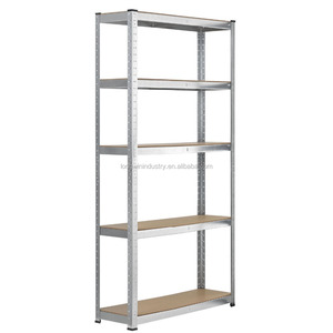 Heavy Duty Steel & MDF Racking Corner Shelving Unit