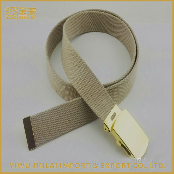Hot selling custom cotton military canvas belt