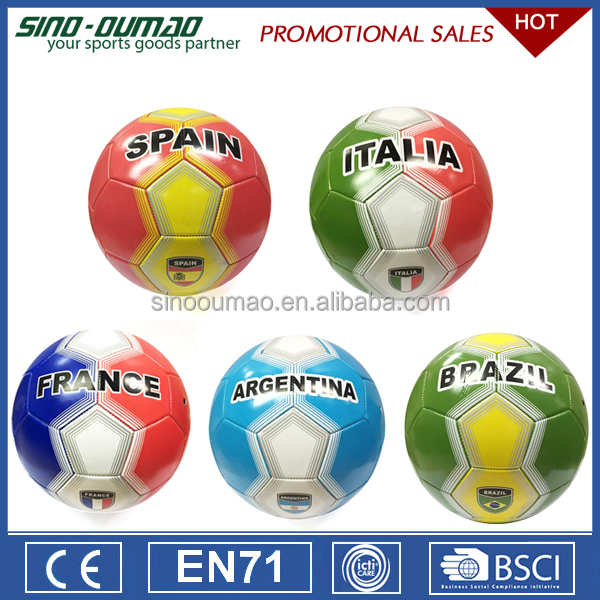 Size 5 Soccer Ball Used For Professional Match