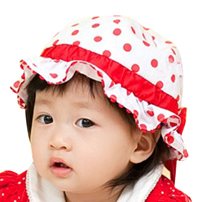 10c012821002 Summer Infant baby girl hat bucket hats hat hat hat Korean girls spring and summer  hat free shipping