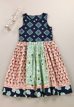 New design remake kids boutique sleeveless sewing fashion pattern maxi long dresses baby girls cotton clothes set