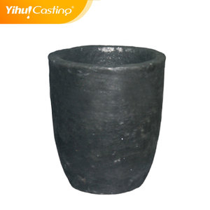 Silicon carbide crucibles used for brass/copper/Au melting with capaicty 6kg