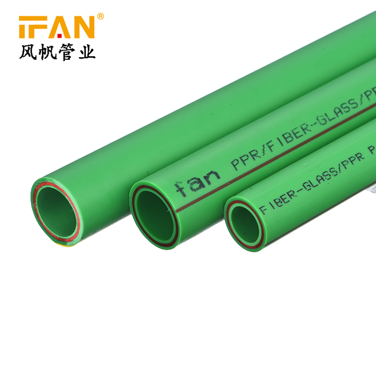 Wholesale IFAN Plastic Tube Multilayer Pipe PPR Glass Fiber Pipe Fiber Glass Tube for Water supply