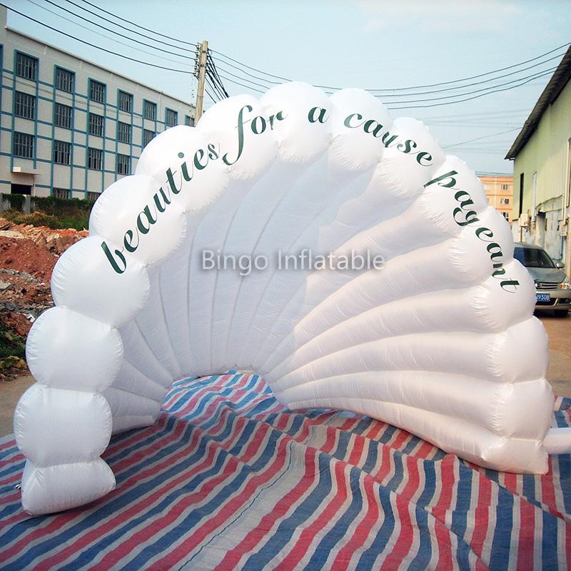 Inflable gigante piscina flotador de concha para la venta-Inflables ...