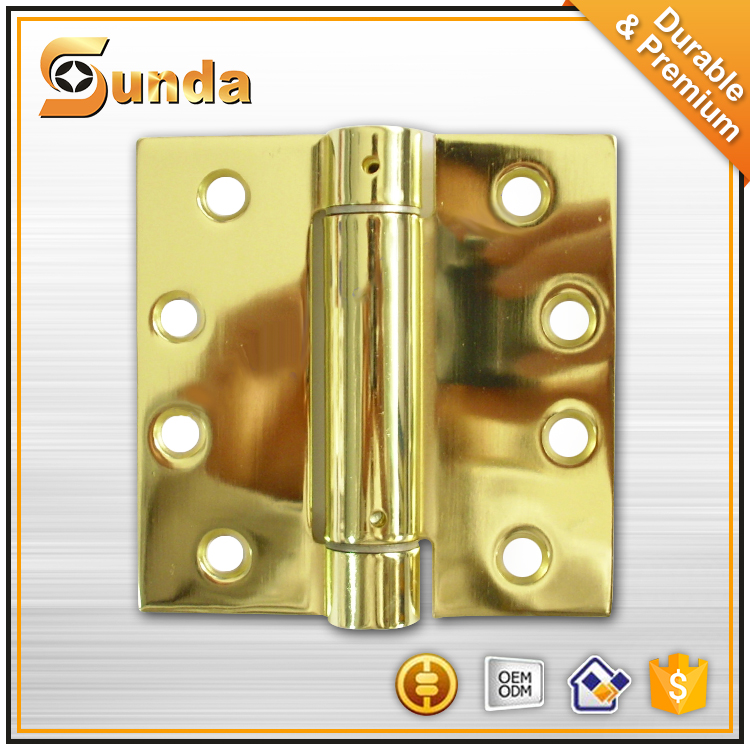 Stainless steel single action spring hinge ,American Style