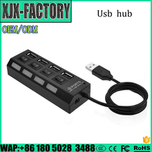 Different Models of mini 4 port usb hub with CE certificate