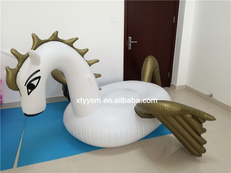 Custom inflatable pool toys,pegasus pool float