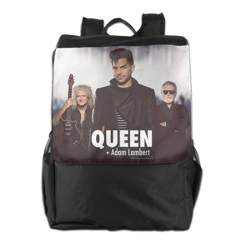 Adam Lambert And Queen Outdoor Backpack Travel Bag