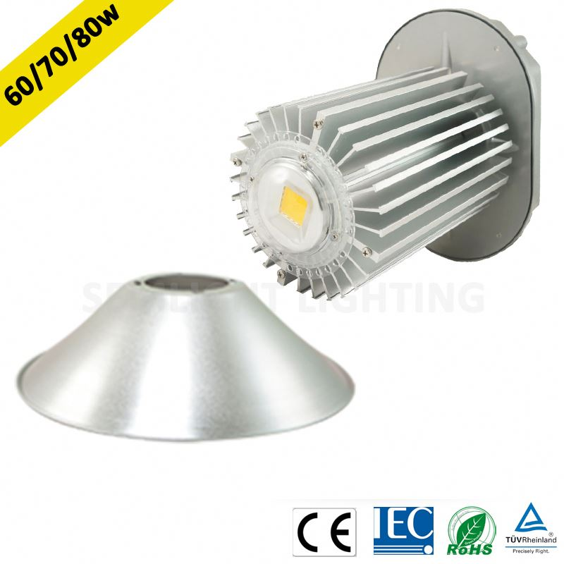 AC85-265V 50-60hz or DC12V ce rohs iec approva 70w industrial led ceiling light