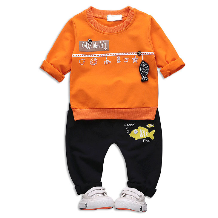 New arrival long sleeve casual boy's clothing sets wholesale made in China, As picture or customized make