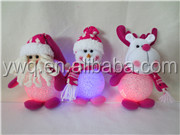 hot! cute Christmas Santa Claus doll home car tree decoration small pendant key chain new gifts for christmas 2013
