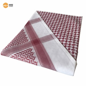 Wholesale Arab square shemagh 100% Cotton men head scarf