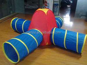 Collapsible Kids Play dome Tent with tunnel