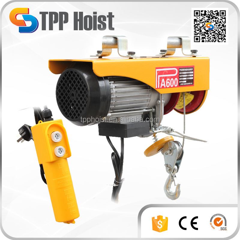 PA400 PA500 portable electric wire rope pulling wire rope pulling hoist, wire rope pulling hoist suppliers and  at soozxer.org
