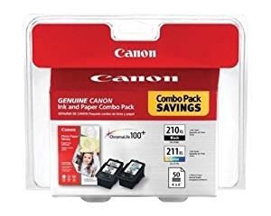 Canon PIXMA MX410 Black & Color Ink Cartridge Combo Pack (OEM)