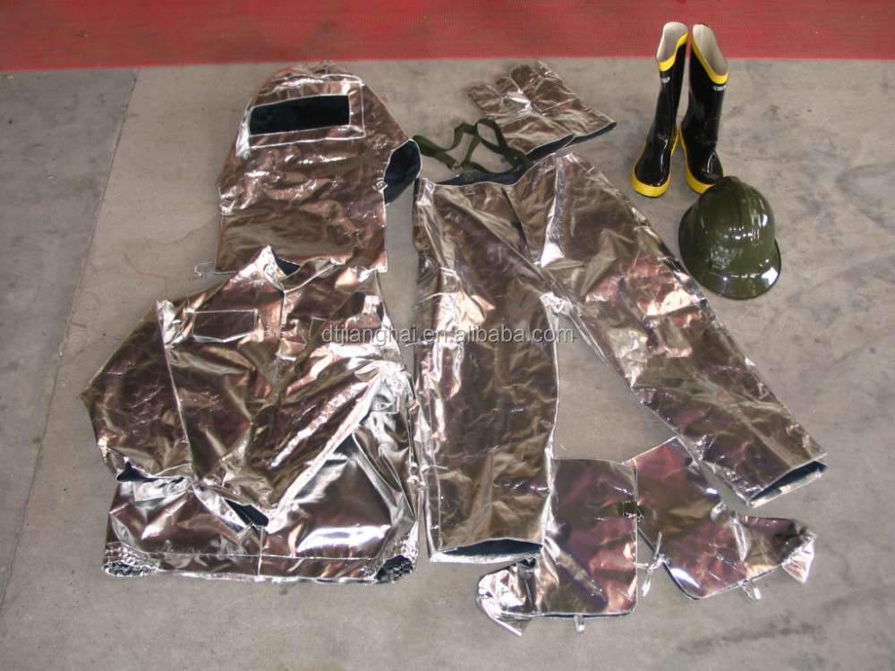 CCS Solas approved fire fighting nomex Aluminized Firefighter suit