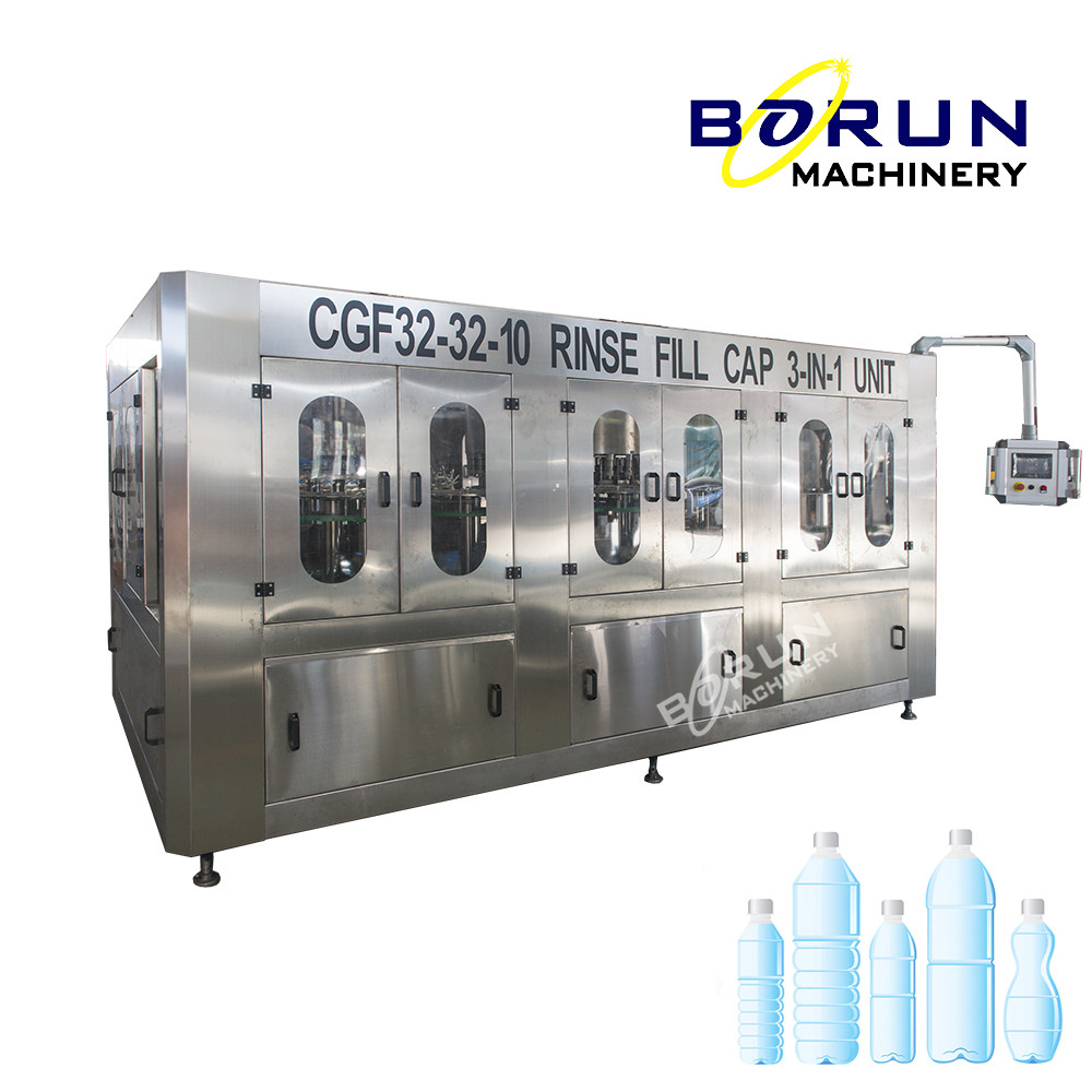 Water Bottle Filling and Packing Machine For Small Factory Invest