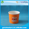 Custom soup packaging cup, paper soup container with print