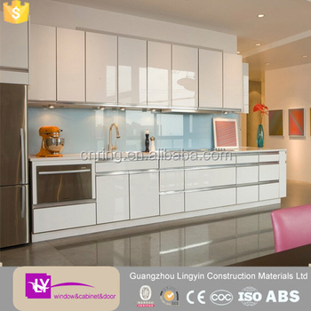 High gloss acrylic sheet kitchen cabinet in kerala hot for Acrylic kitchen cabinets prices