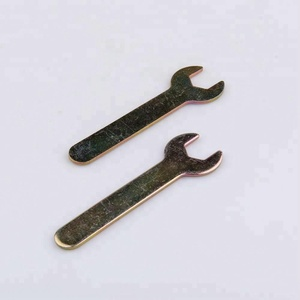 Flat head disposable impact spanner open end wrench