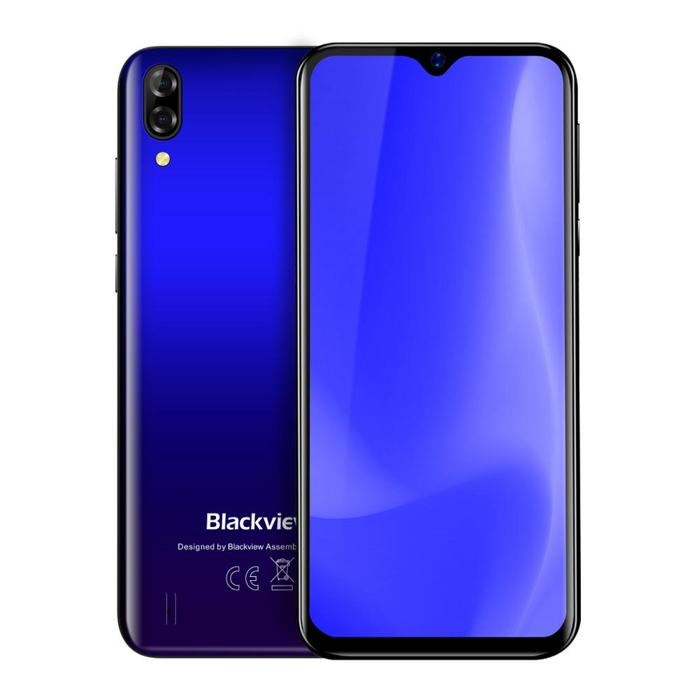Wholesale Original Blackview A60 4080mAh Smartphone Android 8.1 13MP Rear Camera 16GB Cell Phone MT6580 Quad Core 6.1Waterdrop""