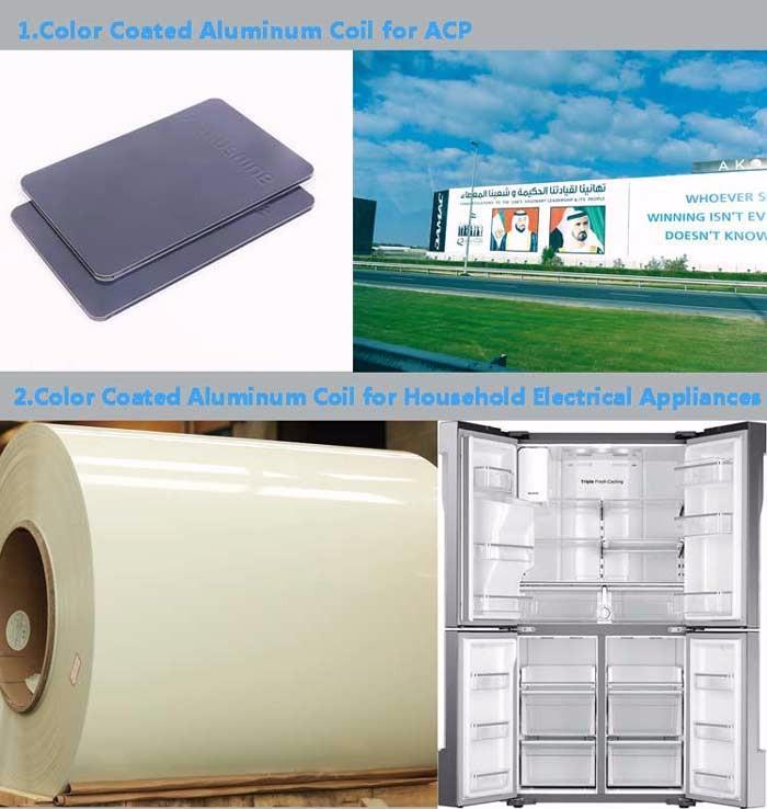 Aluminum White Color Coated Sheet Coil For Gutter System